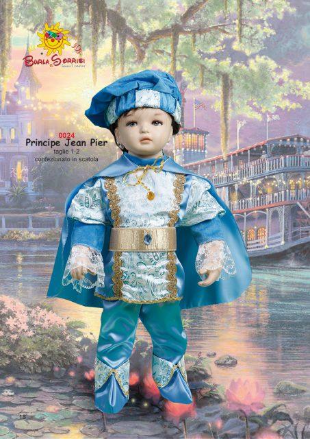Principe Jean Pierre costume carnevale