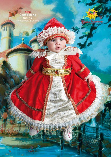 Contessina vestito di carnevale