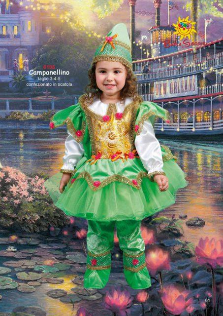 costume di carnevale campanellino