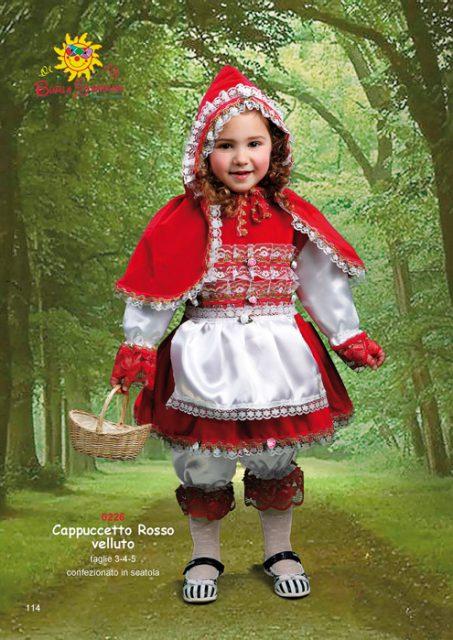 Cappuccetto Rosso velluto cappuccetto rosso