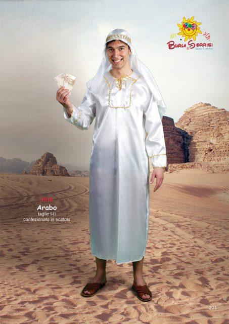 Arabo costume carnevale