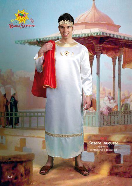 Cesare Augusto costume di carnevale