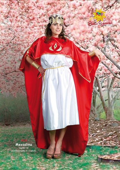 Messalina costume carnevale