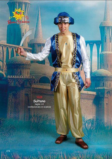 Sultano costume carnevale
