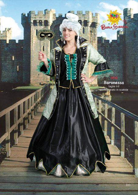 Baronessa costume carnevale