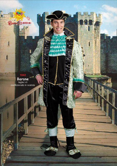 Barone costume di carnevale