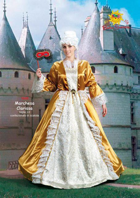 Marchesa Clarissa costume di carnevale abiti di carnevale ingrosso