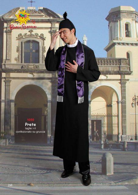 Prete abito di carnevale