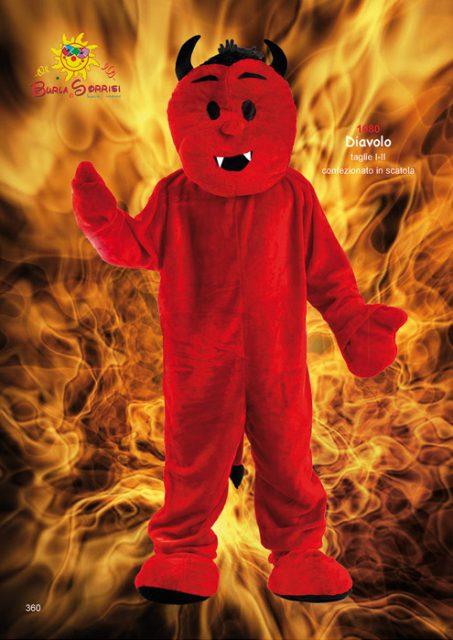 mascotte diavoletto Diavolo mascotte costumi e travestimenti per bambini ingrosso
