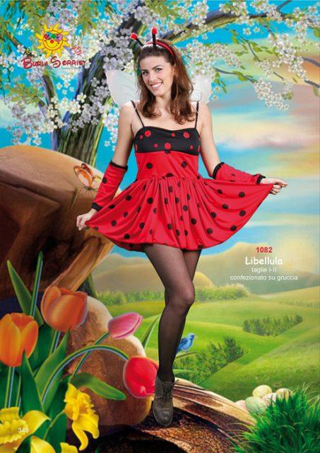 coccinella Libellulacoccinella vestito di carnevale online