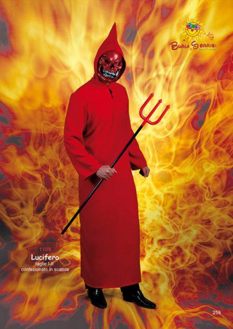 Lucifero costume carnevale