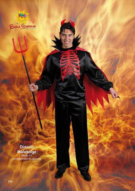 Diavolo Malebolge costume di carnevale
