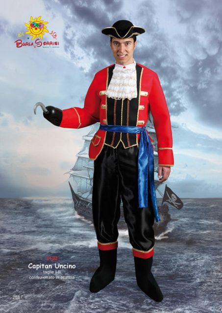 Capitan Uncino carnevale ingrosso costumi carnevale mascotte