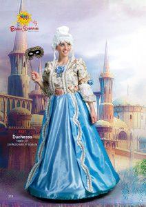 Duchessa vestito di carnevale adulto