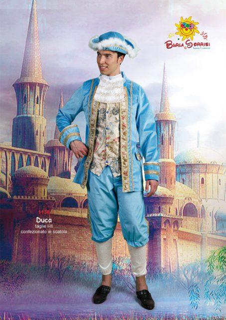 Duca costume di carnevale adulto