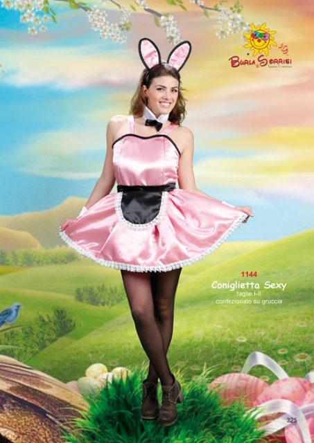 Coniglietta Sexy vestito di carnevale CONIGLIETTA SEXY