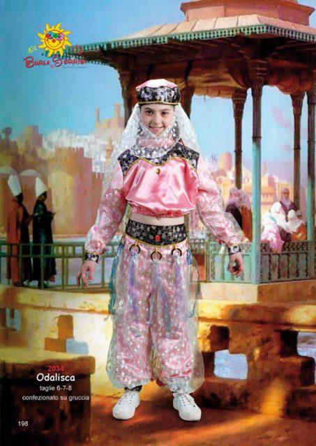 Odalisca costume di carnevale Odalisca costume carnevale