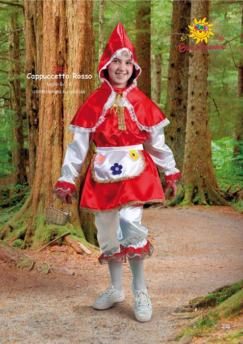 Cappuccetto Rosso costume carnevale