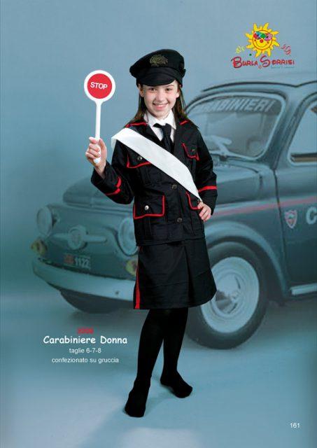 Carabiniere Donna costume carnevale