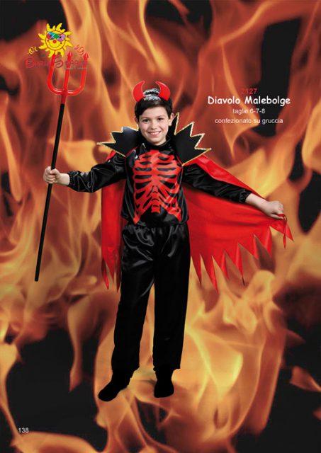 Diavolo Malebolge costume carnevale