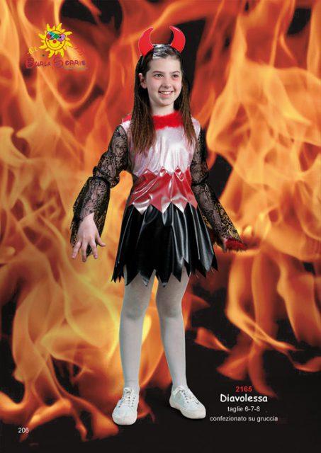 Diavolessa costume di carnevale Diavolessa costumedi carnevale