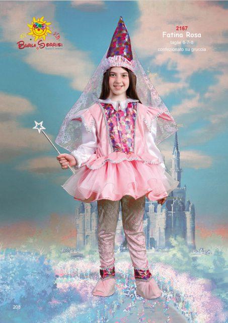 Fatina Rosa costume carnevale