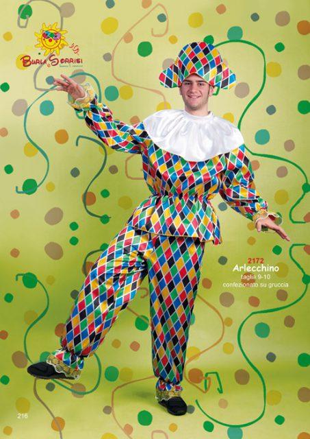 Arlecchino costume carnevale