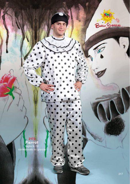 Pierrot costume carnevale