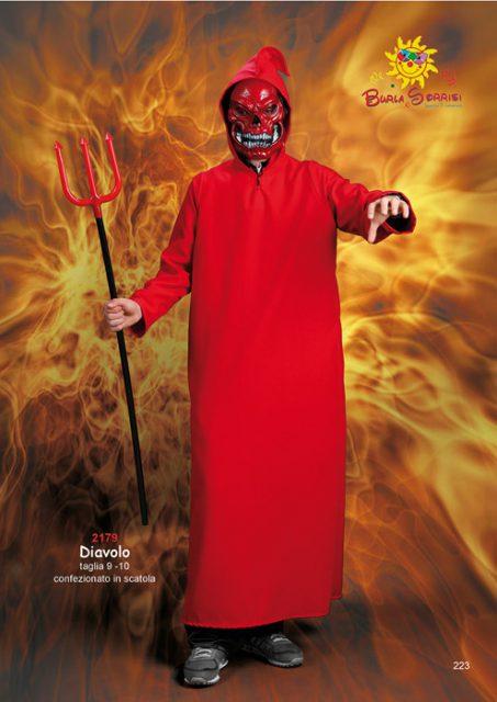 Diavolo costume di carnevale
