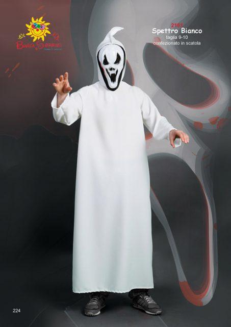 Spettro Bianco costume di carnevale