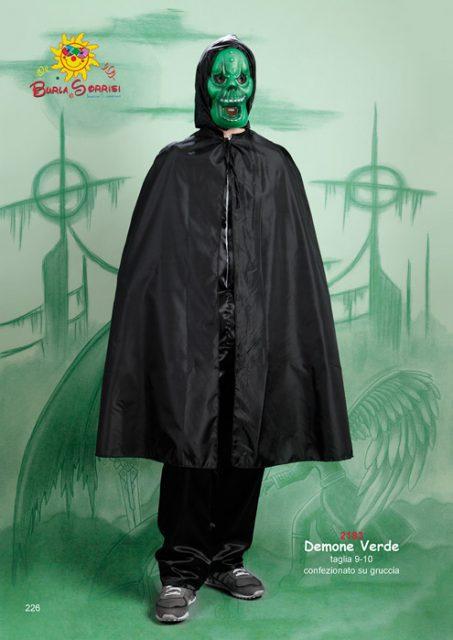 Demone Verde costume di carnevale Demone Verde costume di carnevale