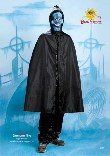 Demone Blu costume carnevale