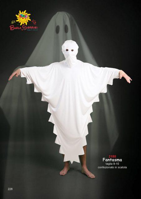 Fantasma vestito di carnevale