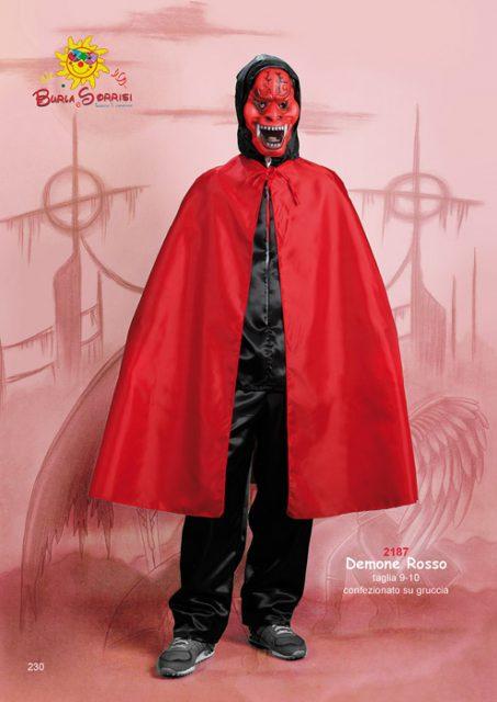 Demone Rosso costume carnevale