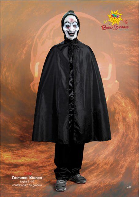 Demone Bianco costume carnevale