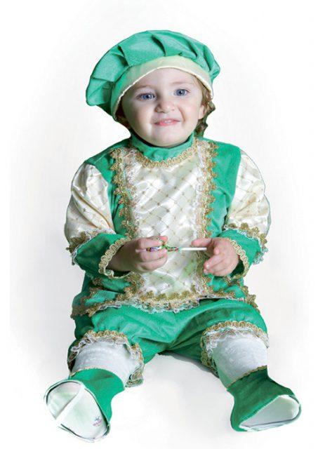 Piccolo Re costume di carnevale