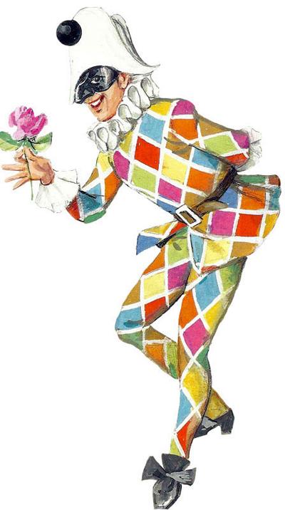 il Vestito di Carnevale di Arlecchino e la sua storia