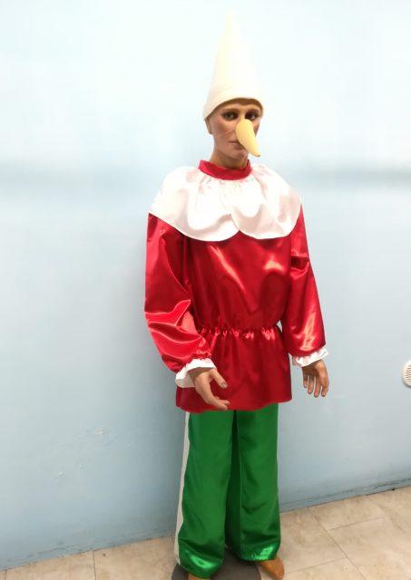 costume di pinocchio adulto