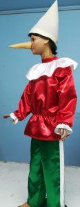 produzione vestiti di carnevale di pinocchio